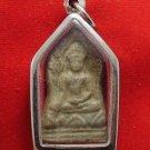 POWERFUL SHINARAJ SEMA LEAF BUDDHA ANTIQUE REAL THAI AMULET LUCKY RICH PENDANT