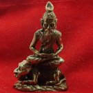 PORGAE HERMIT GURU SIT ON MAGIC TIGER AMULET TALISMAN R