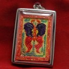 ANGELS AVATAR DUO SALIKA KB KRITSANA THAI BUDDHA AMULET PENDANT LUCKY HAPPY RICH