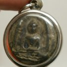 DOUBLE MIRACLE BUDDHA SOOMGOR PERDLOKE SUPER POWERFUL THAI AMULET LUCKY PENDANT