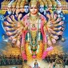 VISHVARUPA UNIVERSAL OMNI FORM OF GOD DEITY VISHNU HINDU MARACLE AMULET PENDANT