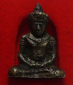 BLESSED KHMER CAMBODIA BUDDHA MINI AMULET LIFE PROTECTION LUCKY SUCCESS WIN RICH