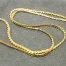 18 INCHES GOLD PLATED MICRON NECKLACE FOR 1 BUDDHA PENDANT GIFT FREE SHIPPING