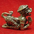 LORD HANUMAN MONKEY RAMAYANA MUAY THAI BRASS AMULET LIFE PROTECTION COOL PENDANT