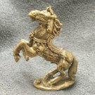 MAGIC WAR HORSE THAI MINI BRASS AMULET RICH TALISMAN THAILAND GIFT LUCKY GAMBLE