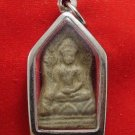 POWERFUL BUDDHA SHINARAJ ANTIQUE REAL THAI AMULET GOOD LUCK RICH MIRACLE PENDANT