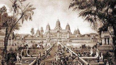 SUPER RARE ANTIQUE KHMER CAMBODIA POWERFUL BUDDHA AMULET PENDANT VERY LUCKY RICH