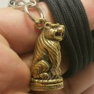 MAGIC TIGER THAI REAL AMULET LIFE PROTECTION PENDANT NECKLACE TALISMAN NICE GIFT