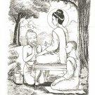 HERMIT CHEEVAKA DOCTOR HEALING LORD BUDDHA THAI MINI AMULET GOOD HEALTH TALISMAN