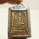 PHRA SOMDEJ TOH WAT RAKANG BACK MAGIC PAGODA THAI BUDDHA AMULET SUCCESS PENDANT