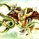 GARUDA PHAYA KRUT MAGIC EAGLE BIRD THAI AMULET LIFE PROTECTION PENDANT NECKLACE