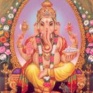 LORD GANESH LP KLOY HINDU GOD OF SUCCESS WEALTH LUCKY PENDANT THAI MAGIC AMULET