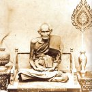 LP BOON SANGKAJAI HAPPY BUDDHA THAI ANTIQUE AMULET PROSPERITY LUCKY RICH PENDANT