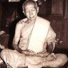 1975 LP TIM COIN THAI FAMOUS POWERFUL MAGIC MONK BUDDHA AMULET PENDANT NECKLACE