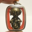 LUKE GROG GUMAN KUMAN THONG MAGIC SPIRIT LUCKY RICH GAMBLE THAI AMULET PENDANT
