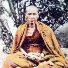 BLESSED IN 1975 KB SRIVICHAI COIN THAI POWERFUL MAGIC MONK BUDDHA AMULET PENDANT