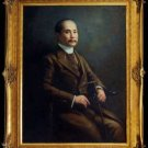 GREAT KING RAMA 5 VISIT EUROPE IN 1897 COIN THAI GOOD LUCK SUCCESS RARE PENDANT