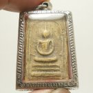PHRA SOMDEJ ARAHUNG REAL THAI BUDDHA MAGIC YANTRA AMULET REMOVE OBSTACLE PENDANT