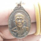 BLESSED IN 1981 LP POOT COIN THAI BUDDHA AMULET GOOD LUCK HAPPY SUCCESS PENDANT