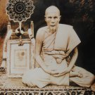 1953 RED LP PUEK OF WAT KINGKAEW SALIKA YANT THAI POWERFUL BUDDHA MIRACLE AMULET