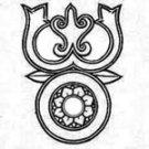 TRIDENT OF LORD SHIVA TRISHULA TRISULA TRISHUL TIBETAN TIBET HINDU DEITY PENDANT