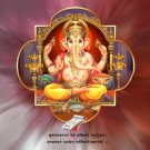 GANESH GANESHA LORD OF SUCCESS BLESS MAGIC MIRACLE LUCKY ANTIQUE AMULET PENDANT