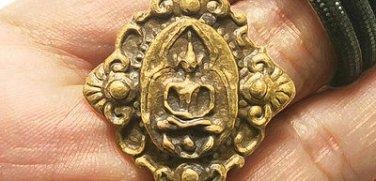 VAJRA DORJE TIBETAN AX VAJRAYANA AMULET PROTECTION TIBET BUDDHA PENDANT NECKLACE