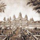 ANTIQUE KHMER CAMBODIA POWERFUL MINI STATUE BUDDHA TOP AMULET LUCKY RICH SUCCESS