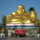 PIDTA SANGKAJAI PENDANT HAPPY BUDDHA BUDDHISM THAI MAGIC AMULET RICH MONEY GIFT