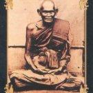 LP BOON BUDDHA BIG EARS ON 5 BASES MAGIC HEALING THAI GOOD HEALTH AMULET PENDANT