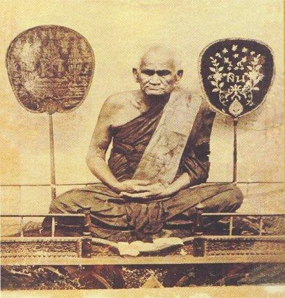 THAI BUDDHA AMULET LP NGERN REAL THAILAND FAMOUS MONK PENDANT LUCKY RICH SUCCESS