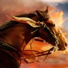 THAI MINI BRASS AMULET MAGIC WAR HORSE RICH TALISMAN THAILAND GIFT LUCKY GAMBLE