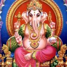 GANESH GANESHA GANAPATI VINAYAKA GOD HINDU THAI MINI AMULET SUCCESS WIN OBSTACLE