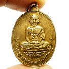 LP MUI COIN DONRAI TEMPLE THAI AMULET PROTECTION LUCKY RICH MIRACLE YANT PENDANT