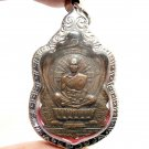 LP KOON WIN OVER EVIL COIN THAI REAL AMULET PENDANT PROTECTION & MONEY MULTIPLY