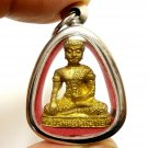 THAI PENDANT LORD BUDDHA POWERFUL BLESSED AMULET LUCKY RICH HAPPY PEACEFUL LIFE