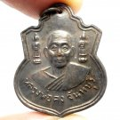 LP KONG 1968 COIN PIDTA YANT CLOSE EYE BUDDHA THAI AMULET PROTECTION TOP PENDANT