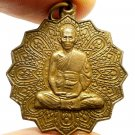 LP RUAY BEAUTIFUL COIN THAI BUDDHA RARE AMULET PENDANT MIRACLE RICH LUCKY GAMBLE