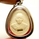 THAI BUDDHA AMULET PENDANT LP KOON WITH MIRACLE TAKRUT LUCKY RICH MULTIPLY MONEY