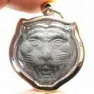 MAGIC TIGER FACE LP PERN THAI LIFE PROTECTION MUAYTHAI REAL AMULET LUCKY PENDANT