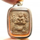 LP PARN SONG KAI RIDE CHICKEN THAI BUDDHA AMULET LUCKY RICH PROTECTION PENDANT