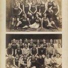 1900 Yale Freshman Crew Athletes Double Albumen