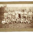 Baseball Team Albumen
