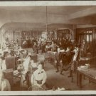 Sewing Factory - Women Sewing in Factory c 1915