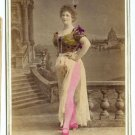 Lady of Burlesque Cabinet Card