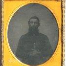 Civil War Soldier Wearing Field Jacket