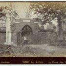 Tomb, Mt. Vernon and Bartholda Fourtain