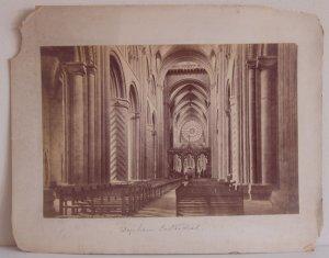 Durham Cathedral & Stirling Castle Albumens