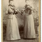Two Female Violinists