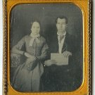 Just Married - Couple Holding Hymnal, Sheet Music